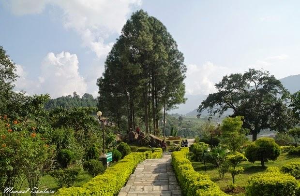 Chobar, parco di Manjushree