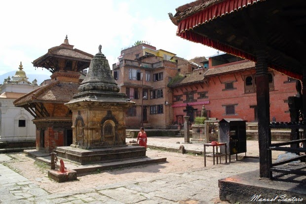 Kirtipur, Tempio di Bagh Bhairab