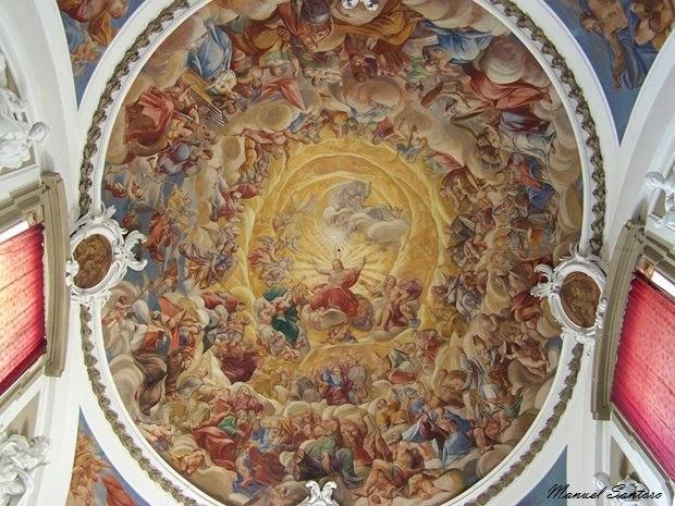 """Pescocostanzo, Basilica di Santa Maria del Colle. La """"Collegiata"""""""