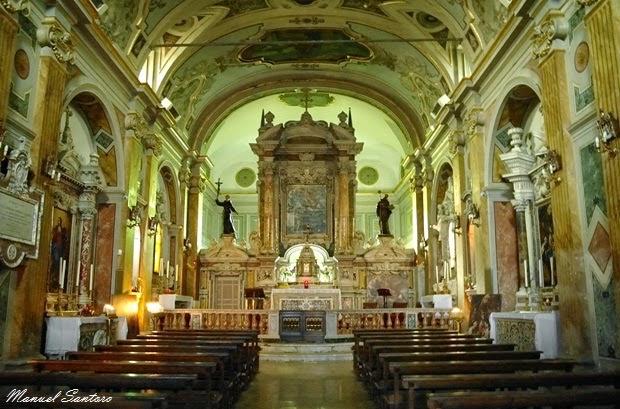 Pescocostanzo, chiesa di Maria e Gesù