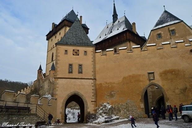 Karlštejn, castello