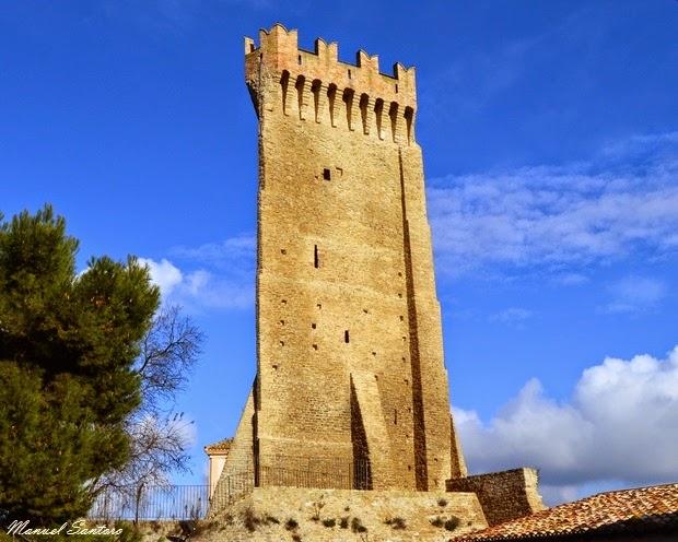Montegualtieri di Cermignano, torre di avvistamento