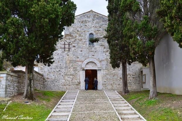 Guardia Vomano, Abbazia di San Clemente al Vomano