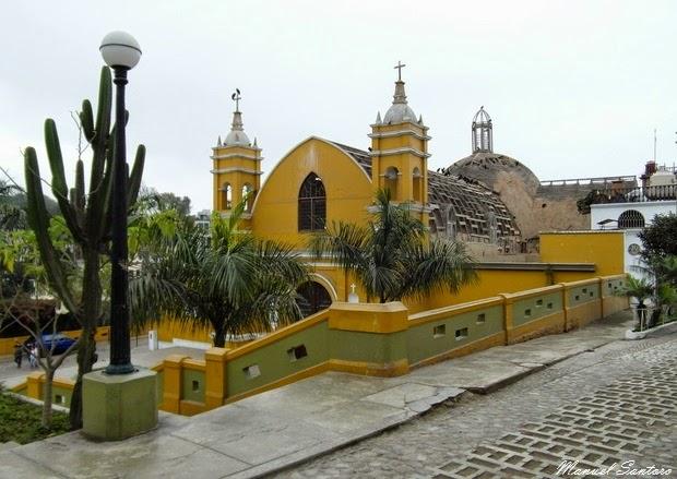 Lima, Barranco. Iglesia La Ermita de Barranco