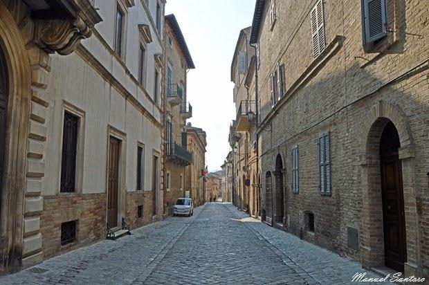 Offida, centro storico