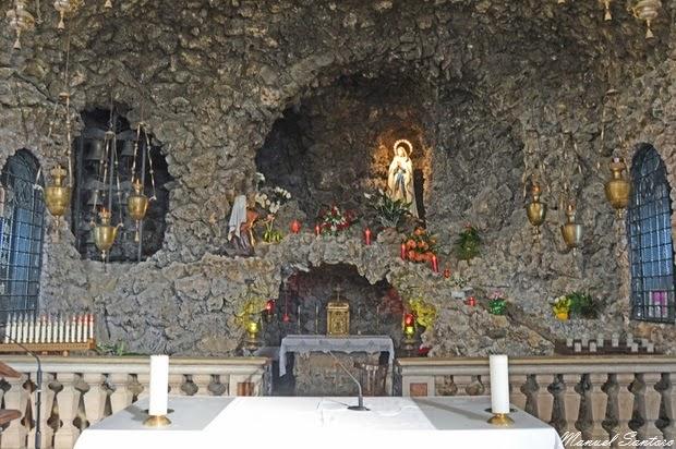 Offida, Chiesa della Collegiata. Madonna di Lourdes