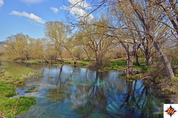 Capestrano, fiume Tirino