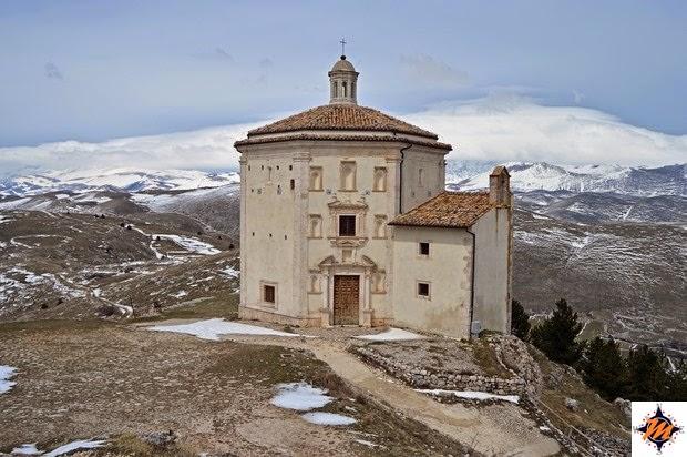 Rocca Calascio, chiesa di Santa Maria della Pietà