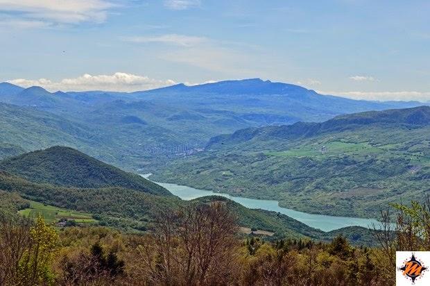 Vista dal Monte Pallano