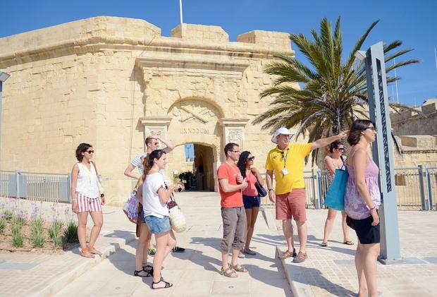 Valletta: escursione di gruppo con Maltalingua