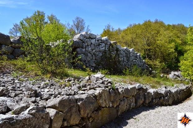 Monte Pallano, mura megalitiche