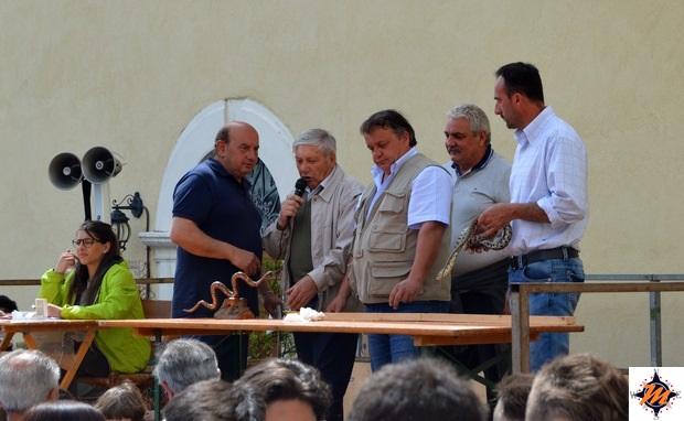 Pretoro, premiazione dei serpari