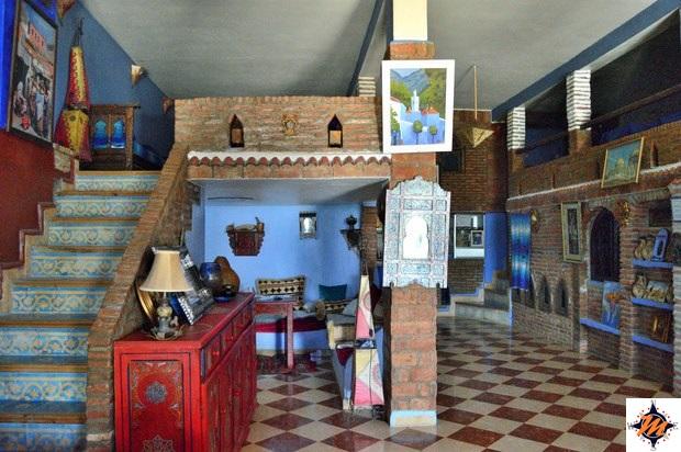 Chefchaouen, Casa Annasr. Hall