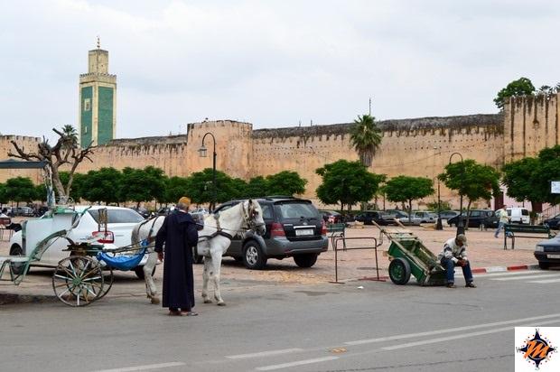 Meknes, place Lalla Aouda