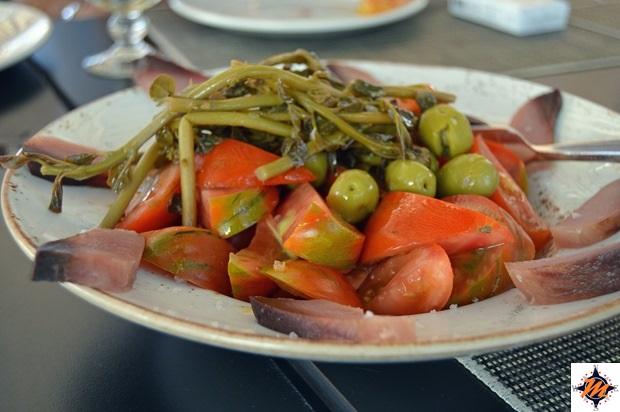 Murcia, La Tapa. Insalata di pomodori