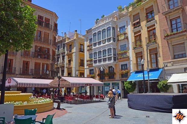 Murcia, Plaza de las Flores
