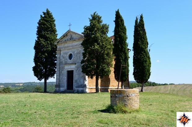 San Quirico d'Orcia, Cappella della Madonna di Vitaleta