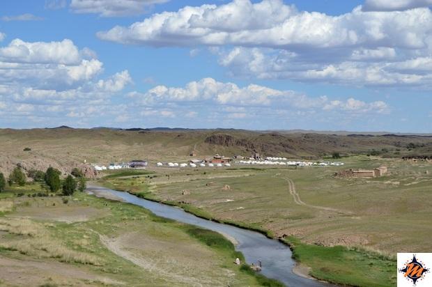 Ongiin Khiid, vista panoramica