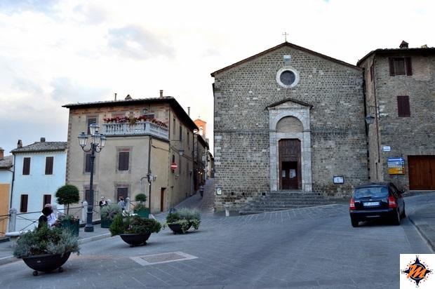 Montalcino, chiesa di Sant'Egidio