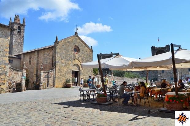 Monteriggioni, Pieve di Santa Maria Assunta