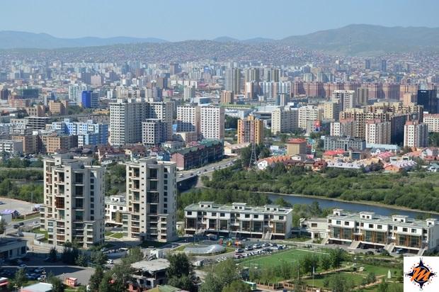 Ulan Bator, vista panoramica dalla Zaisan Hill