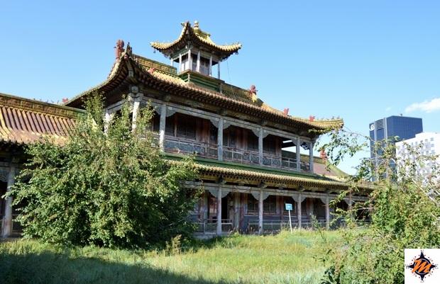 Ulan Bator, Palazzo d'Inverno del Bogd Khan