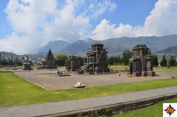 Dieng Plateau, complesso di Arjuna