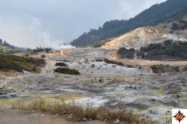 Dieng Plateau, Kawah Sikidang