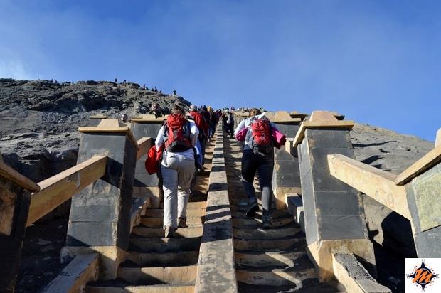 Salendo verso il Gunung Bromo
