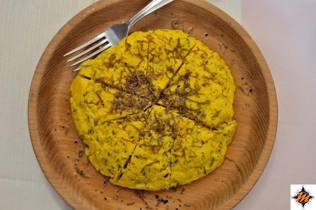 Frittata con tartufo