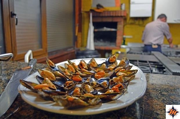 Cena di pesce in una società gastronomica ad Urretxu