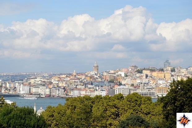 Istanbul, vista dal Palazzo di Topkapi