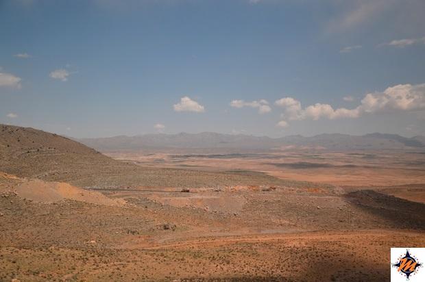 Da Shiraz a Yazd in autobus