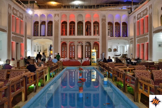 Yazd, Vali Traditional Hotel