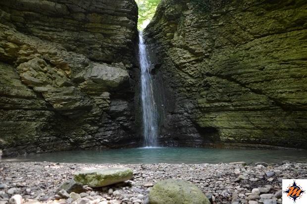 Abbateggio, cascata di Cusano