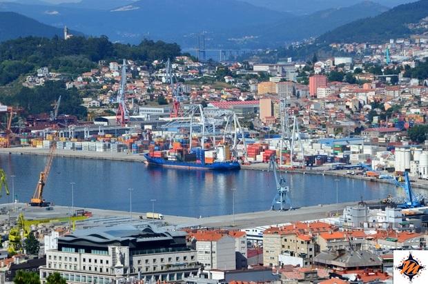 Vigo, vista da O Castro