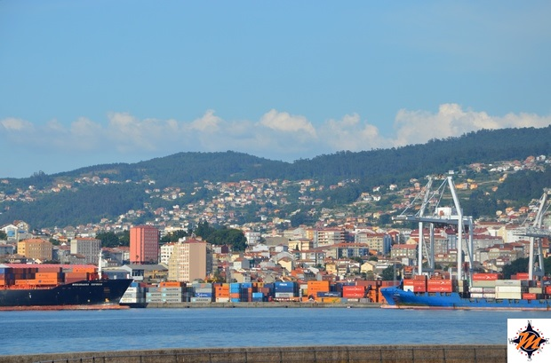 Vigo, zona portuale