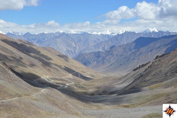 Scendendo dal Khardung La Pass