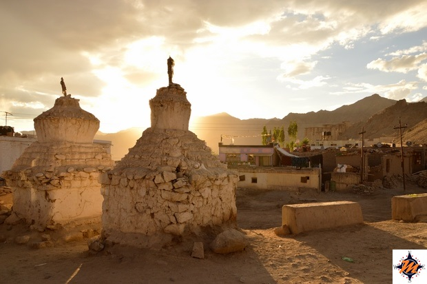 Leh, old city