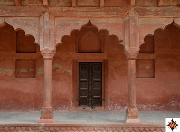 Agra, Taj Mahal. Ingresso sud