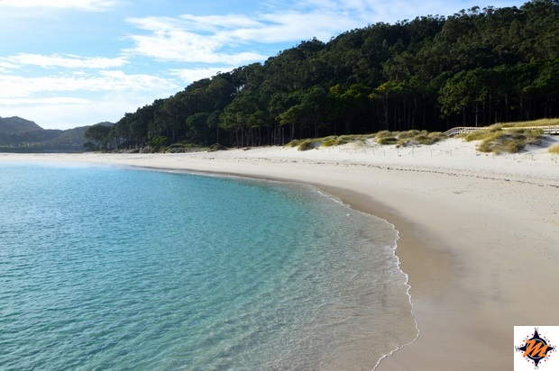 Islas Cies, Playa da Rodas