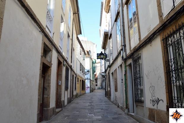 La Coruña, vicoli nella città vecchia