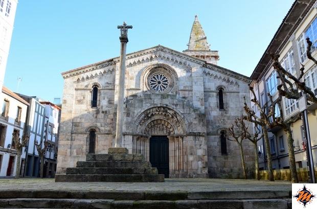 La Coruña, chiesa di Santiago
