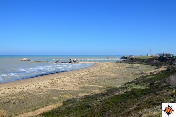 Riserva Naturale Punta Aderci, spiaggia di Punta Penna