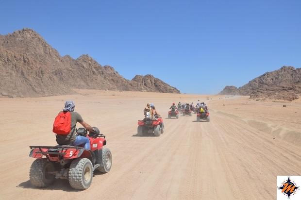 Sharm El Sheikh, escursione in quad