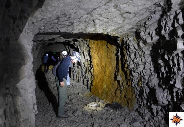 Roccamorice, ex miniera di Acquafredda