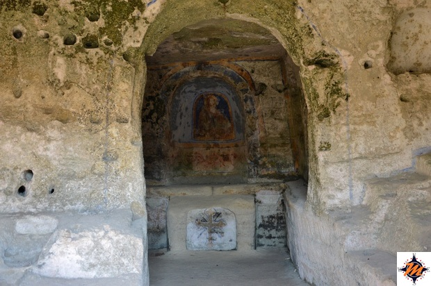 Matera, Parco della Murgia Materana. Sant'Agnese