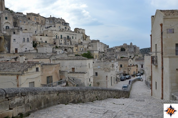 Matera, vista verso via Fiorentini