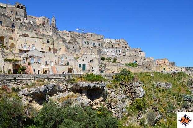 Matera, vista dalla chiesa di San Pietro Caveoso