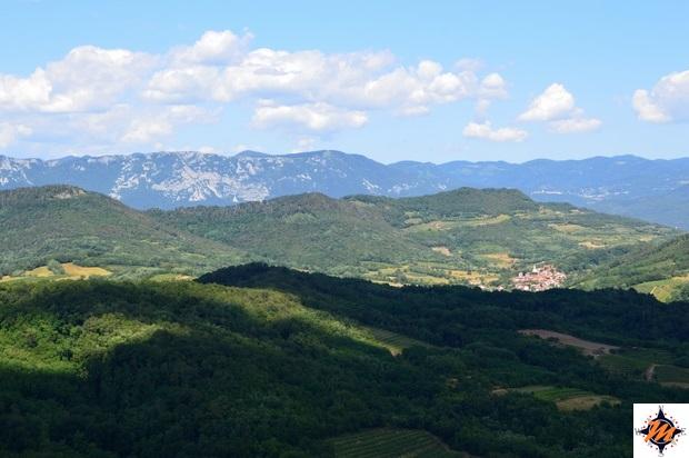Štanjel, Sentiero Fabiani. Valle del Branica